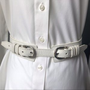 Burberry Belt with Buckles.